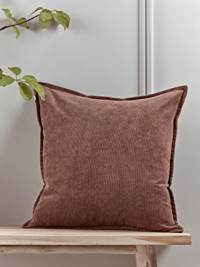 NEW Corduroy Cushion - Vintage Rose