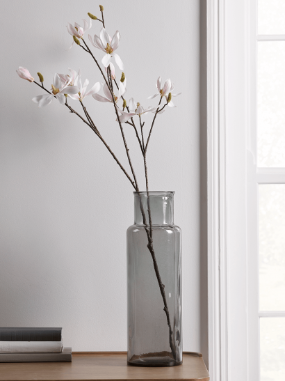 NEW Smoky Column Vase