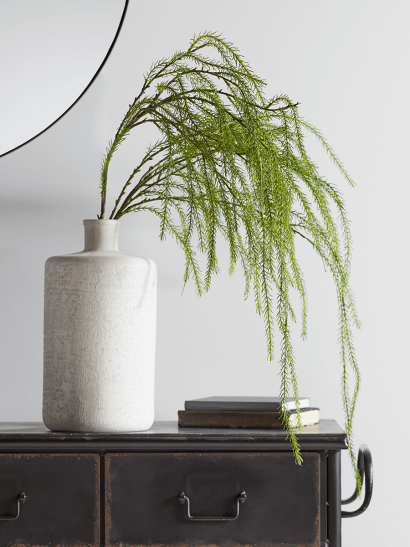 NEW Faux Cascading Willow Spray