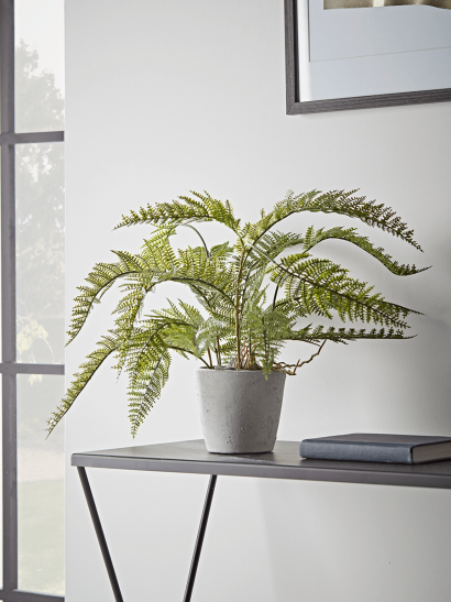 NEW Faux Potted Bracken Fern