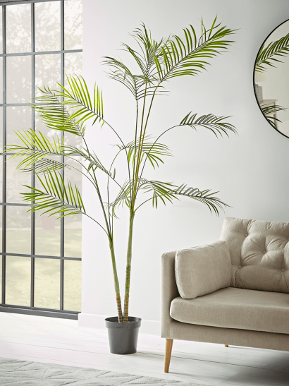 NEW Faux Potted Butterfly Palm