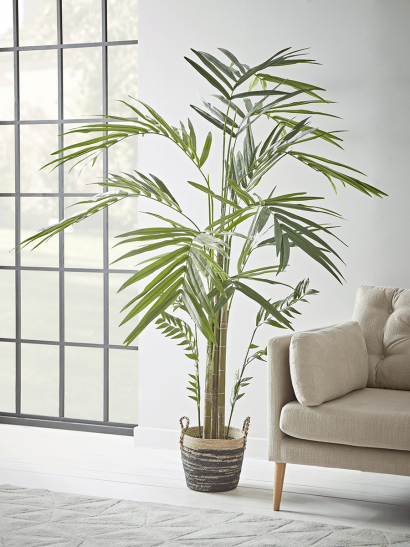 NEW Faux Potted Paradise Palm
