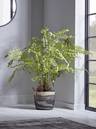 NEW Faux Potted Fern Tree