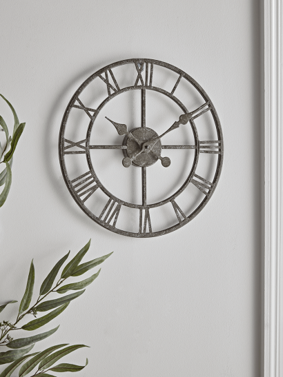 NEW Distressed Cut Out Clock