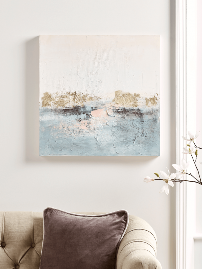 Lakeside Abstract Canvas