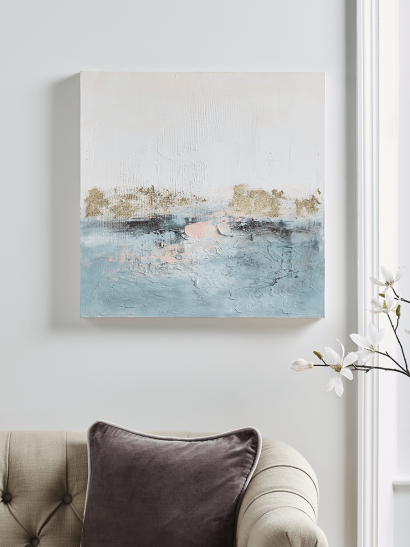 NEW Lakeside Abstract Canvas