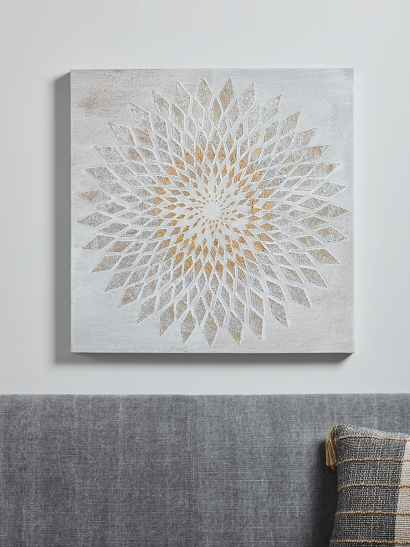 NEW Flower Abstract Canvas