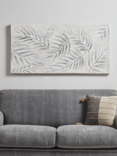 NEW Palm Leaves Abstract Canvas
