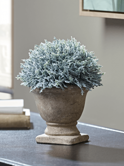 NEW Faux Potted Evergreen
