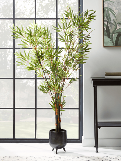 NEW Faux Potted Bamboo