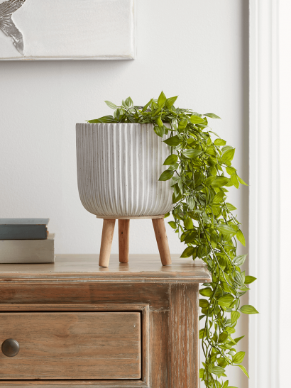 NEW Fluted Standing Planter