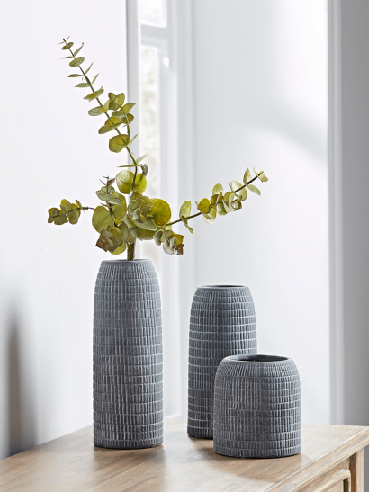 NEW Three Etched Vases