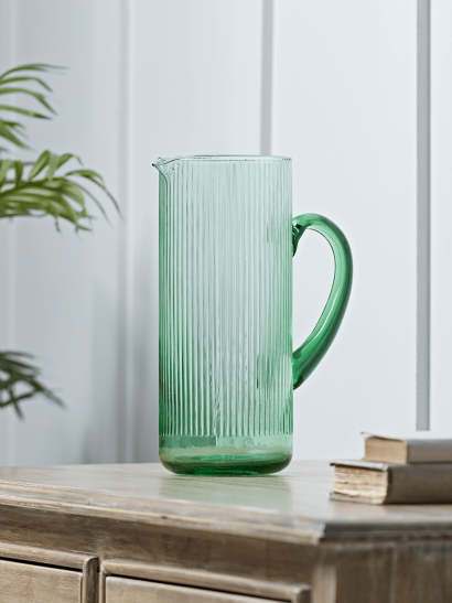 NEW Fluted Glass Jug