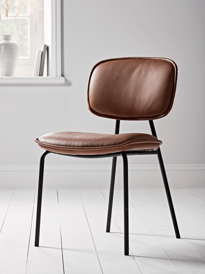 NEW Two Mason Dining Chairs - Tan