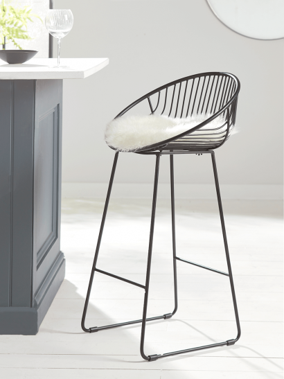 NEW Black Cone Counter Stool