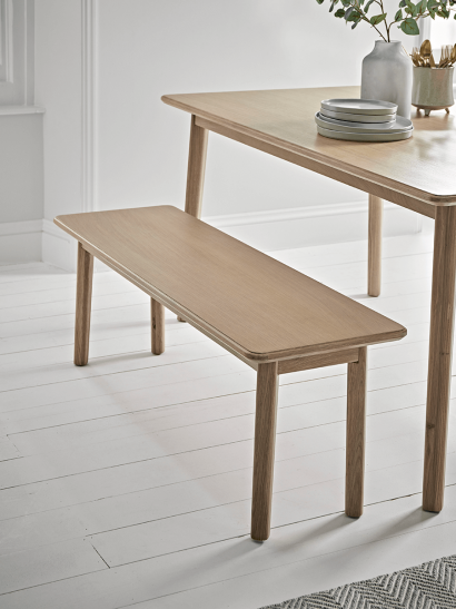 NEW Oslo Oak Long Bench
