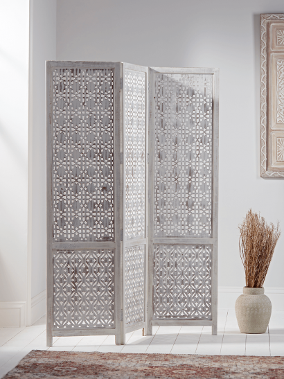 NEW Carved Geometric Screen