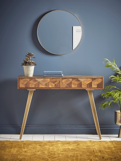 NEW Cubist Console Table