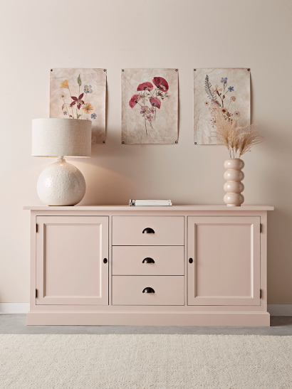NEW Inga Sideboard - Blush