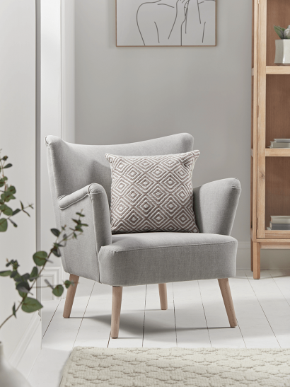 NEW Mads Armchair - Soft Grey