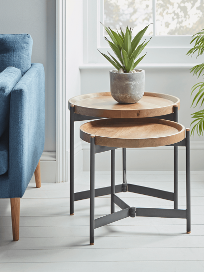 Two Arbour Nesting Tables