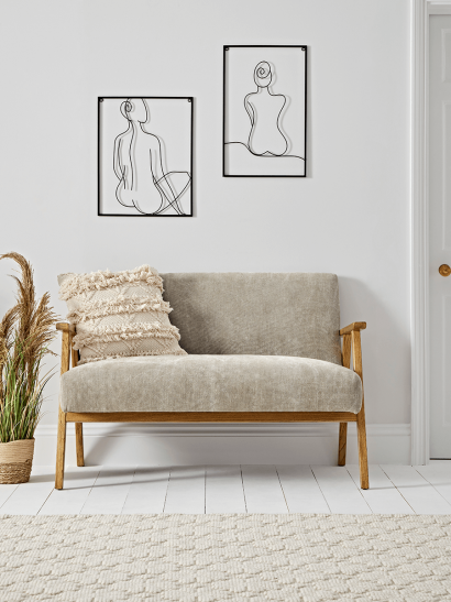 NEW Relaxed Lounge Sofa - Vintage Grey