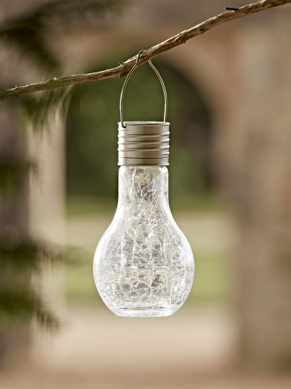 NEW Solar Crackle Bulb Light