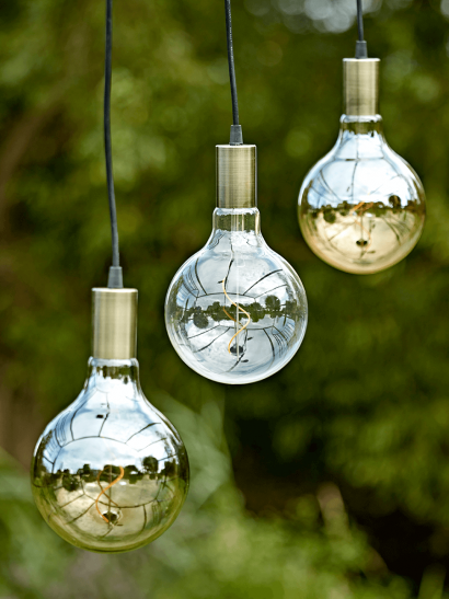 NEW Three Indoor Outdoor Oversized Bulb Lights