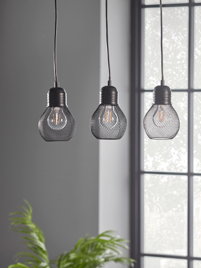 NEW Mesh Triple Pendant Light