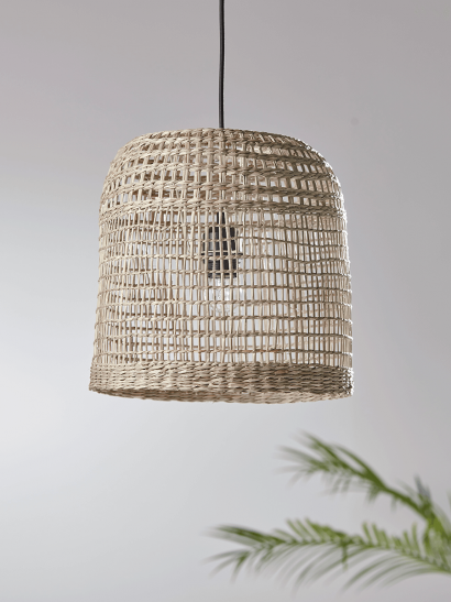 NEW Woven Seagrass Shade - Small