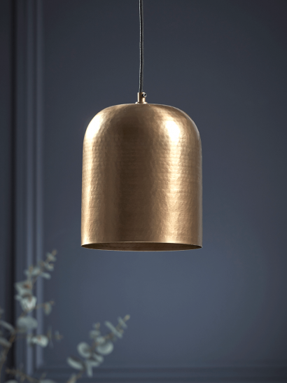 NEW Textured Antique Brass Pendant