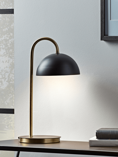 NEW Jefferson Table Lamp - Black