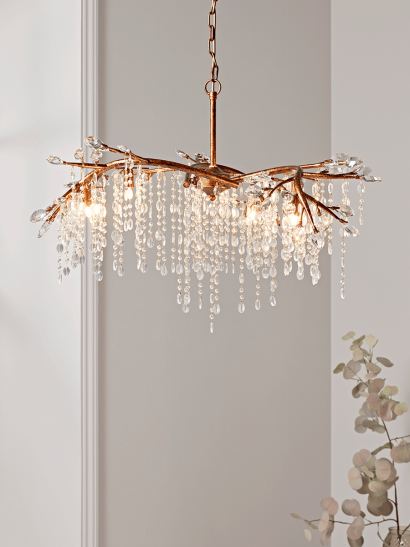 NEW Cascading Crystals Chandelier