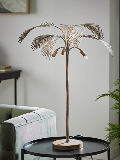 NEW Palm Table Lamp