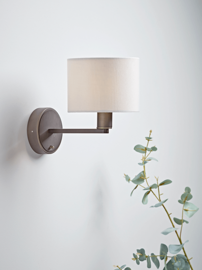 NEW Brushed Bronze Wall Light
