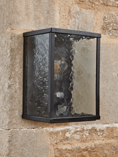 NEW Frosted Glass Box Lantern