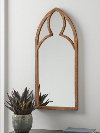 NEW Indoor Outdoor Gothic Arched Mirror