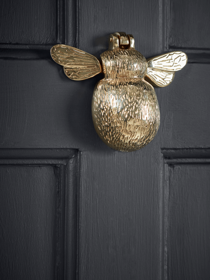 Bumble Bee Door Knocker – Solid Brass