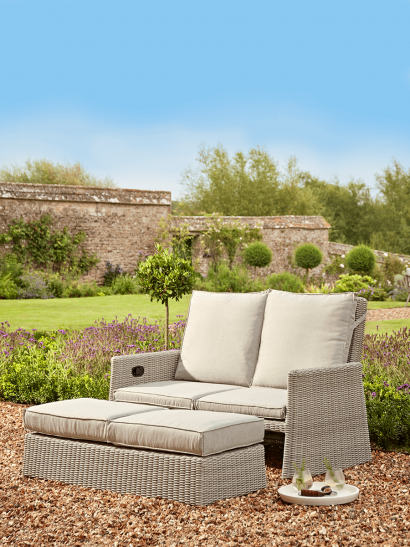 NEW Lucca Double Recliner Set