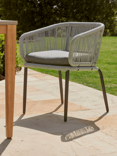 NEW Two Grey String Dining Chairs