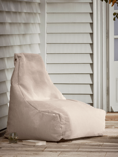 NEW Indoor Outdoor Beanbag - Soft Blush