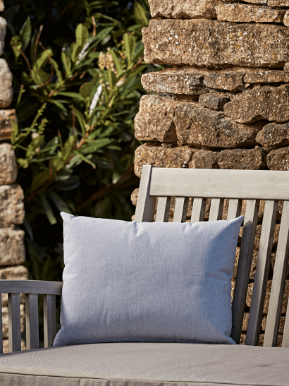 NEW Indoor Outdoor Rectangular Cushion - Soft Blue