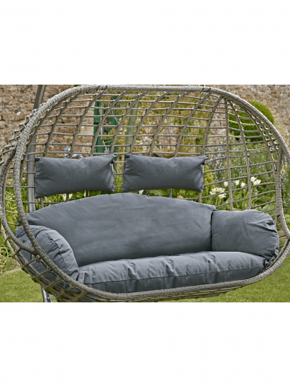 NEW Double Hanging Chair Cushion - Grey