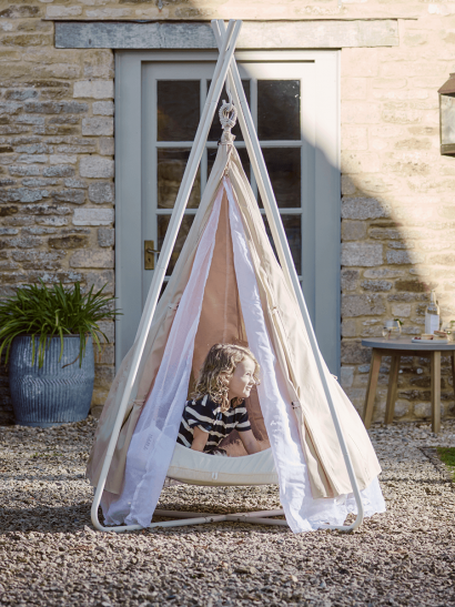 NEW Indoor Outdoor Hanging Bell Tent - Kids
