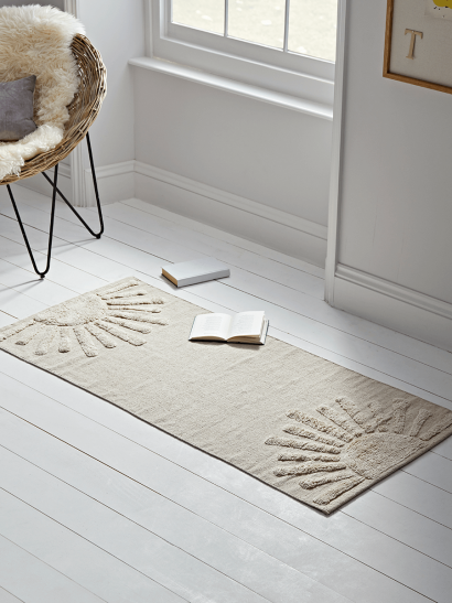 NEW Natural Cotton Rug
