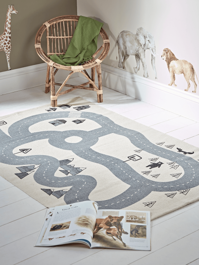 NEW Road Map Rug