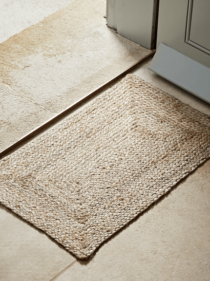 NEW Braided Jute Doormat - Medium