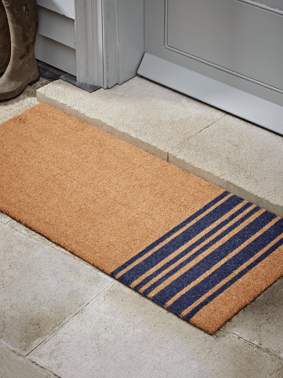 NEW French Stripe Doormat - Double