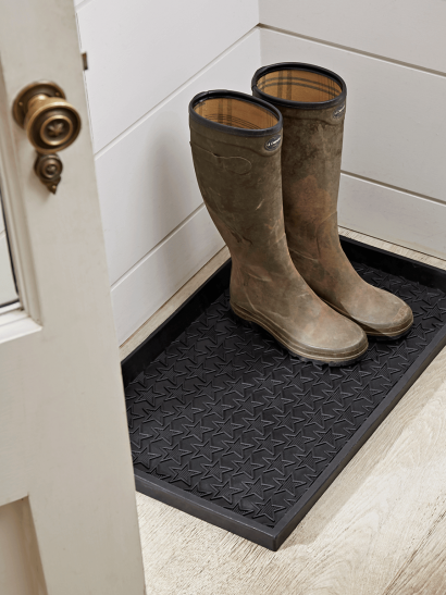 NEW Star Print Rubber Boot Tray