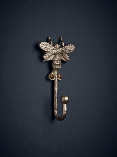 NEW Solid Brass Bee Hook